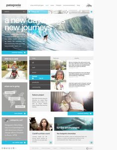 Patagonia Women's on the Behance Network #patagonia #web