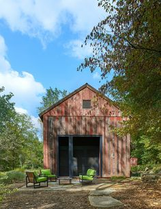 Red Barn at Hazel River Cabin / Bonstra Haresign Architects