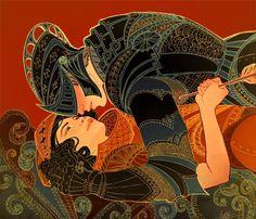 armor - jennifer hom   illustrator