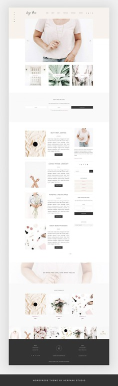 Grazie – Blog + eCommerce Theme   Creative WordPress Blog Themes