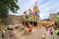 Movement_Cafe_Morag Myerscough #signage