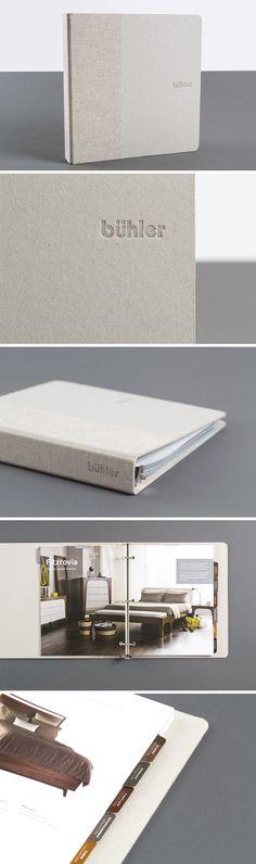 Buhler Furniture Catalogue Design - One Plus One Design #Print #Design