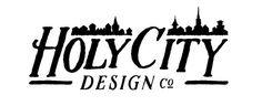 H O L Y C I T Y D E S I G N #branding #icon #design #logo #charleston #typography