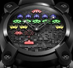 Space Invaders Watch | Fubiz™ #invaders #space #watch