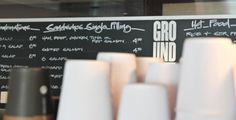Ground #white #shop #menu #board #black #simple #cafe #chalkboard #coffee
