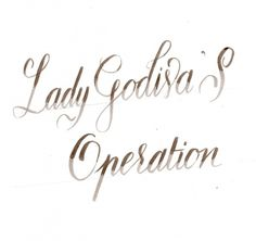 Velvet Underground Obsession | Giuseppe Salerno and Paco González #lady #calligraphy #underground #copperplate #velvet