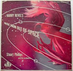 All sizes | 1960s HARRY REVEL'S Music From Out Of Space LP vintage record go go swinging 1960s Vinyl | Flickr - Photo Sharing! #design #graphic #cover #lp #projects #montague #vintage #1960