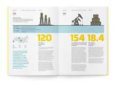 Nice illustrative annual report #illustration #book #brochure #report