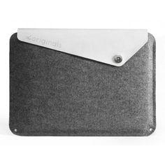 Mujjo Macbook Air Sleeve - 100% Wool Felt