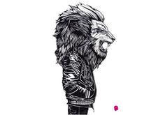 Marlo Guanlao #lion #head