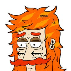 Barbas #barbas #characterdesign #borneo