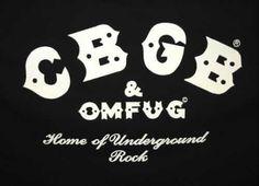CBGB #music #logo