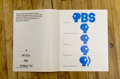 PBS Identity #identity #design #graphic #branding
