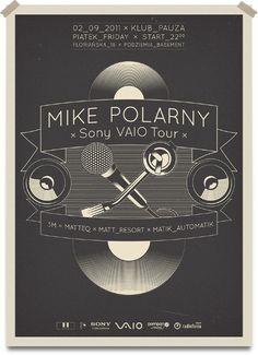 MIKE POLARNY #kos #print #poster #karolina