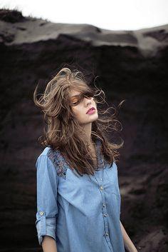 Hair by Nain Maslun #inspiration #model #cloud #girl #photography #portrait
