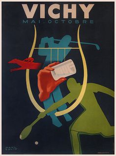 http://www.vintagepostersnyc.com/cgi local/db_images/posters/uploads/1545 image.jpg?30 #golf #tennis #travel #sports #poster