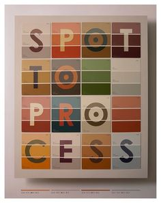 Design Work Life » Tom Davie: 2012 Typographic Prints #layout