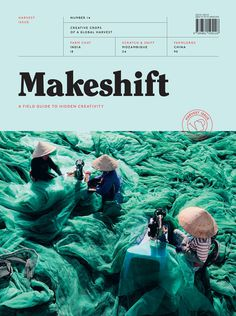 "Makeshift #14: Harvest Issue ""IdN #editorial #magazine #cover"