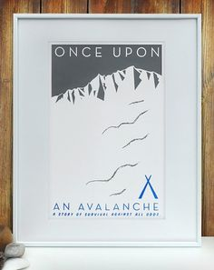 The Visual Work Of Mike Lemanski #print #survival #avalanche