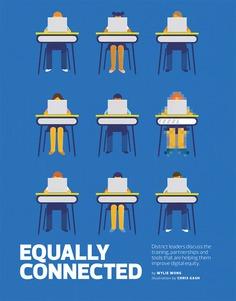 EdTech | Digital equity in K-12 #illustration