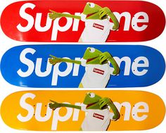 Supreme x Kermit The Frog Decks