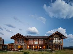 Charming Wooden Getaway in Jackson, Wyoming: Rabbit Brush Residence #architecture