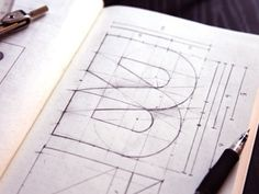 Just Pixels & Keyframes • typeverything: Typeverything.com Brage Media... #jens #design #graphic #brage #drawn #media #hand #obel #sketch #typography