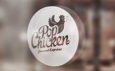 Visual Identity Process: The PopChicken Gourmet Express | Abduzeedo Design Inspiration #popchicken #identity #branding