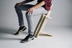 Franklin Gaw | Work Iko Backpack/Messenger #wood #furniture #design #industrial