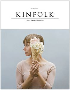 Kinfolk_Vol7_Cover.jpg #cover #magazine #flowers #cone