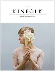 Kinfolk_Vol7_Cover.jpg #cover #cone #magazine #flowers