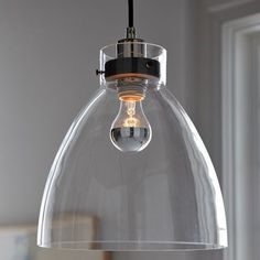 Communal table lighting #design #industrial #furniture #glass #light #pendant