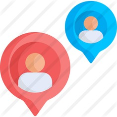 See more icon inspiration related to map, maps and location, placeholder, position, pointer, pin, interface, location, gps, person and people on Flaticon.