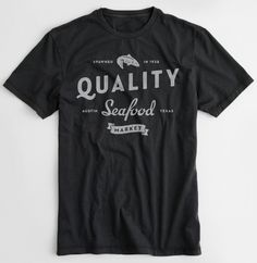 All sizes | Quality Seafood shoit | Flickr - Photo Sharing! #super #furry #branding #shirt
