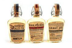 HERITAGE CIDER PACKAGING on Behance #vintage #label #bottle