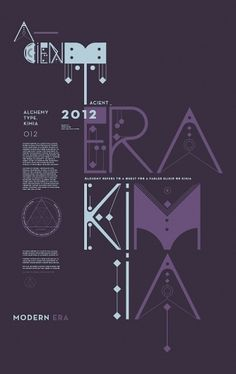 ALQUIMIA TYPE on the Behance Network #intricate #poster #typography