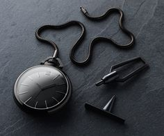 Exclusive First Look: March LA.B x Colette Phantom Pocket Watch: The GQ Eye: GQ on Style: GQ #fashion #style #watch