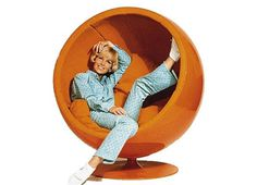 Eero Aarnio Ball Chair #ball #chair #aarnio #mid #vintage #century