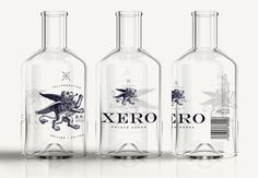 Project 53 UK Design Agency Leeds and London #packaging #glass #vodka #bottle