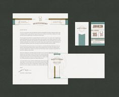 John Wilson Stationery #business #wilson #john #stationery #letterhead #cards