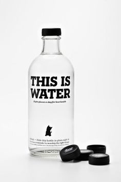 halucygen #design #water #black #bottle