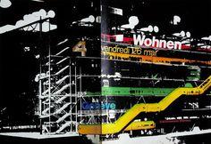 Design Fodder (Centre Pompidou brand by Jean Widmer.) #branding