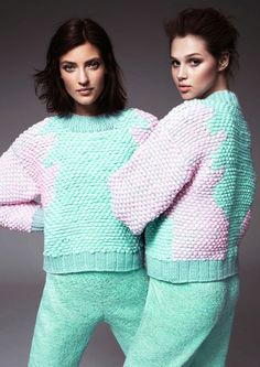Anais Pouliot and Marikka Juhler by Solve Sundsbo for H&M's 2013 Design Winner Collection