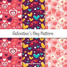 Valentines Day Pattern Pack