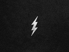 Dribbble - Thunder. by Jorge Martinez #icon #thunder #symbol