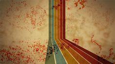 Grunge/retro wallpaper