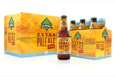 Summit Brewing Extra Pale Ale #packaging #beer