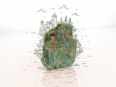 Rock Island #illustration