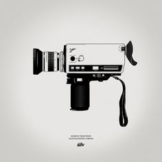 st9.jpg (JPEG Image, 700x700 pixels) #camera #illustration #super8 #film