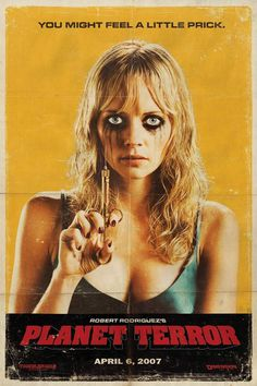 Grindhouse Movie Poster #movie #terror #horror #grindhouse #poster #planet